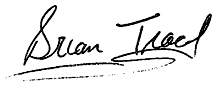 Brian Tracy Signature