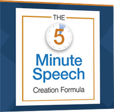 The Five Minute Speech Planner